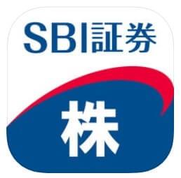 SBI証券株アプリ