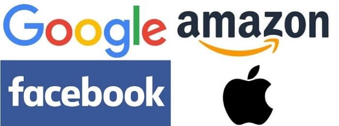 GAFA グーグル アマゾン フェイスブック アップル